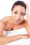 Beauty spa woman Royalty Free Stock Photography