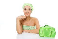 Beauty spa woman Royalty Free Stock Image