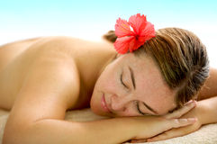 Beauty and spa woman Royalty Free Stock Images