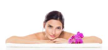 Beauty spa woman Stock Photography
