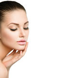 Beauty Spa Woman Portrait royalty free stock photos