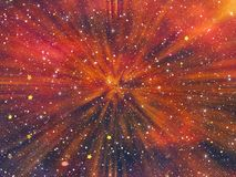 Beauty space stars backgrounds stock illustration