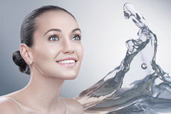 Beauty splash Royalty Free Stock Photo