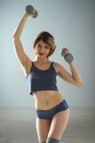 Beauty sport woman training Stock Photos