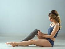 Beauty sport woman training Stock Photography