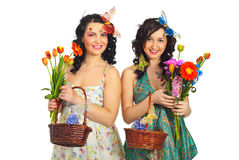 Beauty spring women Royalty Free Stock Photo