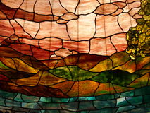 Beauty stained glass image Stock Photo