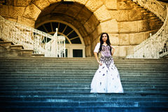 Beauty in stairs Royalty Free Stock Images