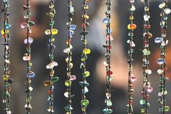 The beauty of street jewelry. stock photography