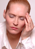 Beauty Stressed Royalty Free Stock Image
