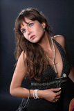 Beauty studio portrait Stock Photography