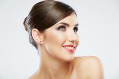 Beauty style close up woman face portrait  Stock Image