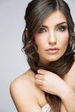 Beauty style female portrait. Stock Images