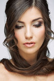 Beauty style female portrait Stock Image