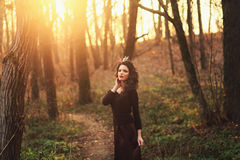 Beauty summer girl outdoors Royalty Free Stock Photography