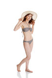 Beauty summer woman in bikini Royalty Free Stock Images