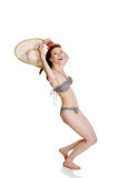 Beauty summer woman in bikini Stock Photo