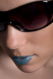 Beauty with sunglasses Royalty Free Stock Photography