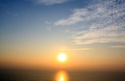 Beauty sunrise. Beautiful sunrise on pranburi thailand Royalty Free Stock Photo