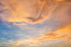 Beauty of Sunrise Scene Stock Photography