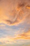 Beauty of Sunrise Scene Stock Photo