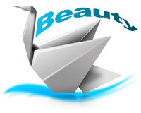 Beauty swan Stock Photo