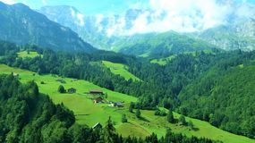 Beauty of Swiss. Holiday in Swiss on 2014 Royalty Free Stock Images