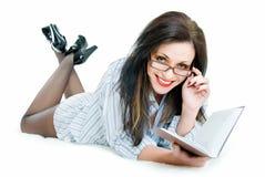 Beauty teacher Royalty Free Stock Photo