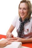 Beauty Technician stock photo