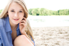 Beauty teen Stock Photo