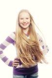 Beauty teen girl. Royalty Free Stock Photography