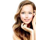 Beauty Teenage Girl Royalty Free Stock Images