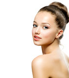 Beauty Teenage Girl Portrait Royalty Free Stock Images