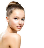 Beauty Teenage Girl Portrait stock photography