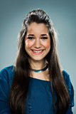 Beauty Teenager Smiling Stock Image