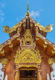Beauty temple building. Of Thai temple Stock Photography