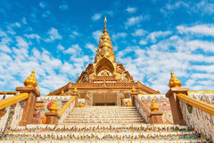 Beauty temple in Thailand Royalty Free Stock Photography