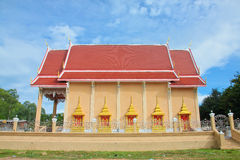 The beauty of Thai temples. Stock Images