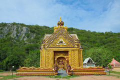 The beauty of Thai temples. Stock Image