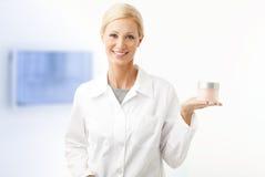 Beauty therapist Stock Image