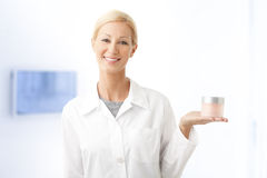 Beauty therapist Stock Photo