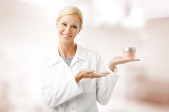 Beauty therapist Royalty Free Stock Images