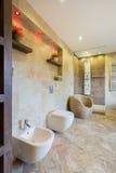 Beauty toilet interior Stock Photography