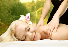 Beauty treatment Royalty Free Stock Image