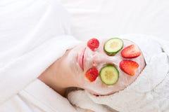 Beauty treatment. At the health spa Royalty Free Stock Photo