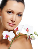 Beauty treatment for female body Royalty Free Stock Photo