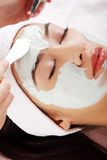 Beauty treatment in spa salon Royalty Free Stock Photo