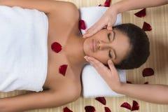Beauty treatment. Royalty Free Stock Photos