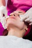 Beauty treatments in the beauty salon Royalty Free Stock Photos