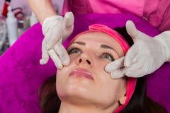 Beauty treatments in the beauty salon Stock Photo